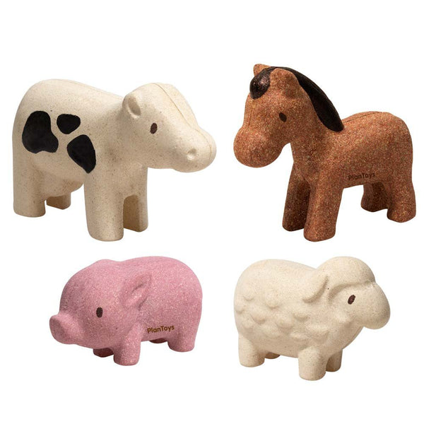 Plan Toys Farm Animals Set