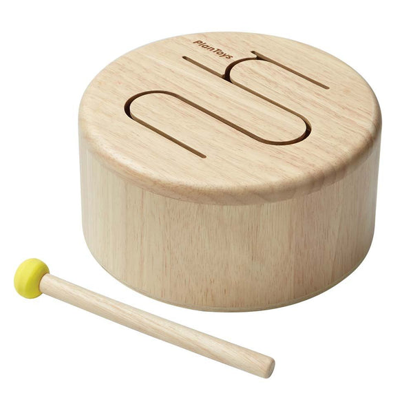 Plan Toys Natural Wooden Drum