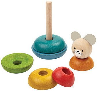 Plan Toys Mouse Stacking Rings