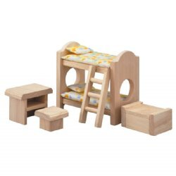 Plan Toys Dolls House Furniture - Children'S Room