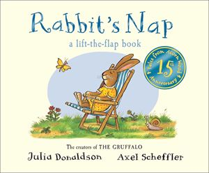 Rabbit'S Nap Hardback Lift-The-Flap Book