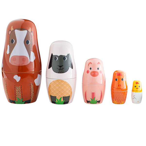 Tidlo Farm Animal Russian Dolls