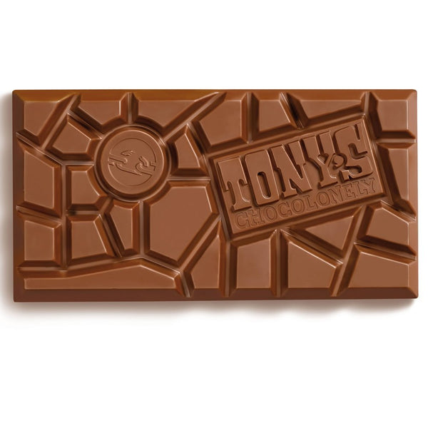 Tony's Chocolonely White Raspberry Popping Candy Big Bar 180g