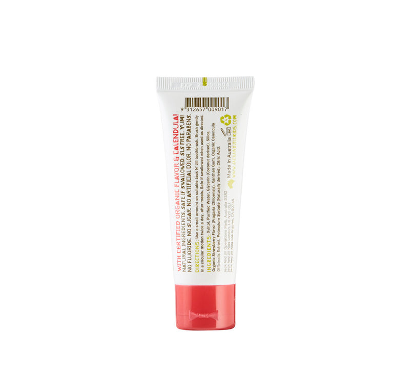 Jack N' Jill Natural Toothpaste Strawberry Flavour