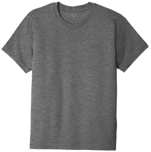 Basic unisex relaxed fit crew neck