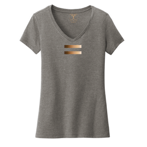 """Equal"" women's v-neck"