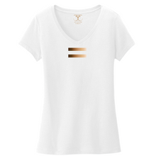"Load image into Gallery viewer, ""Equal"" women's v-neck"