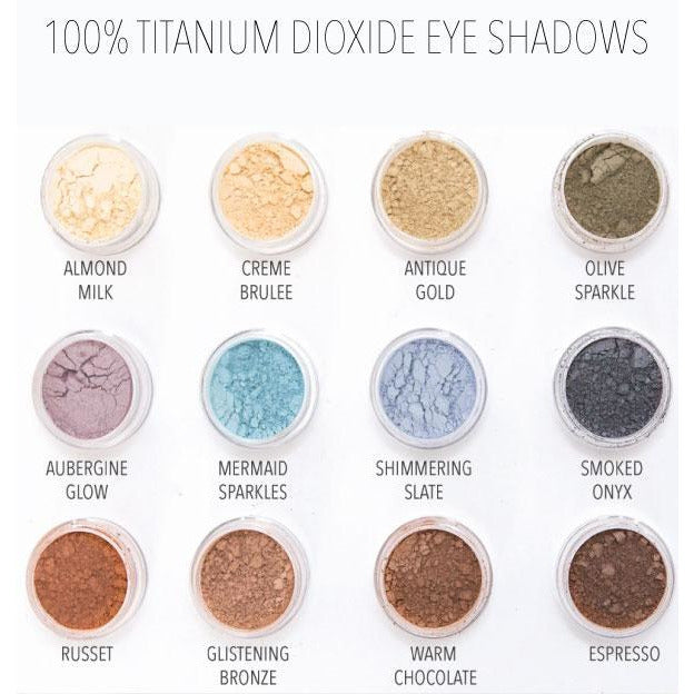 MG Naturals Eye Shadows (6 Shades)