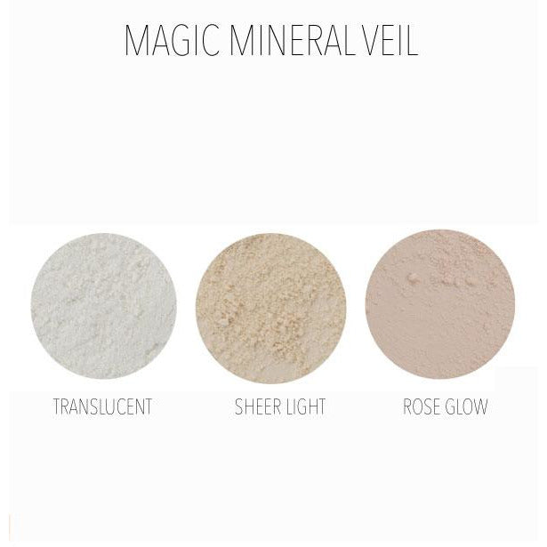 MG Naturals Mineral Veil - setting powder