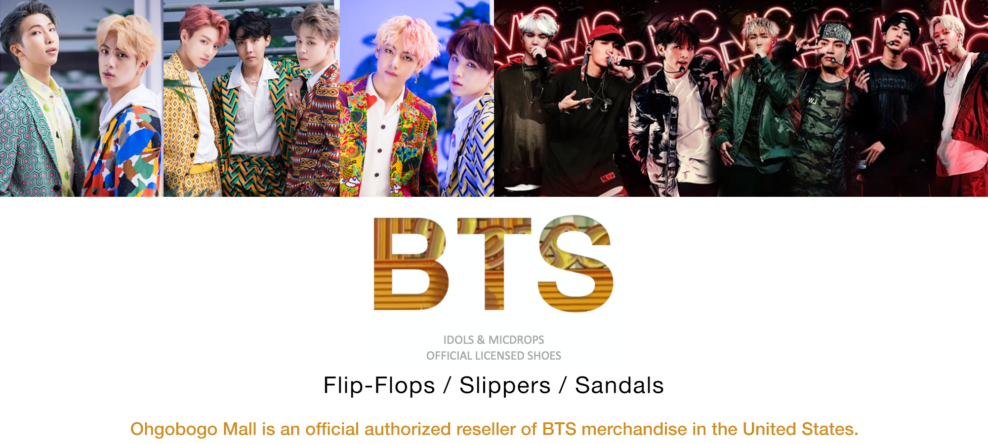 Ohgobogo Mall is an official authorized reseller of BTS merchandise in the United States.