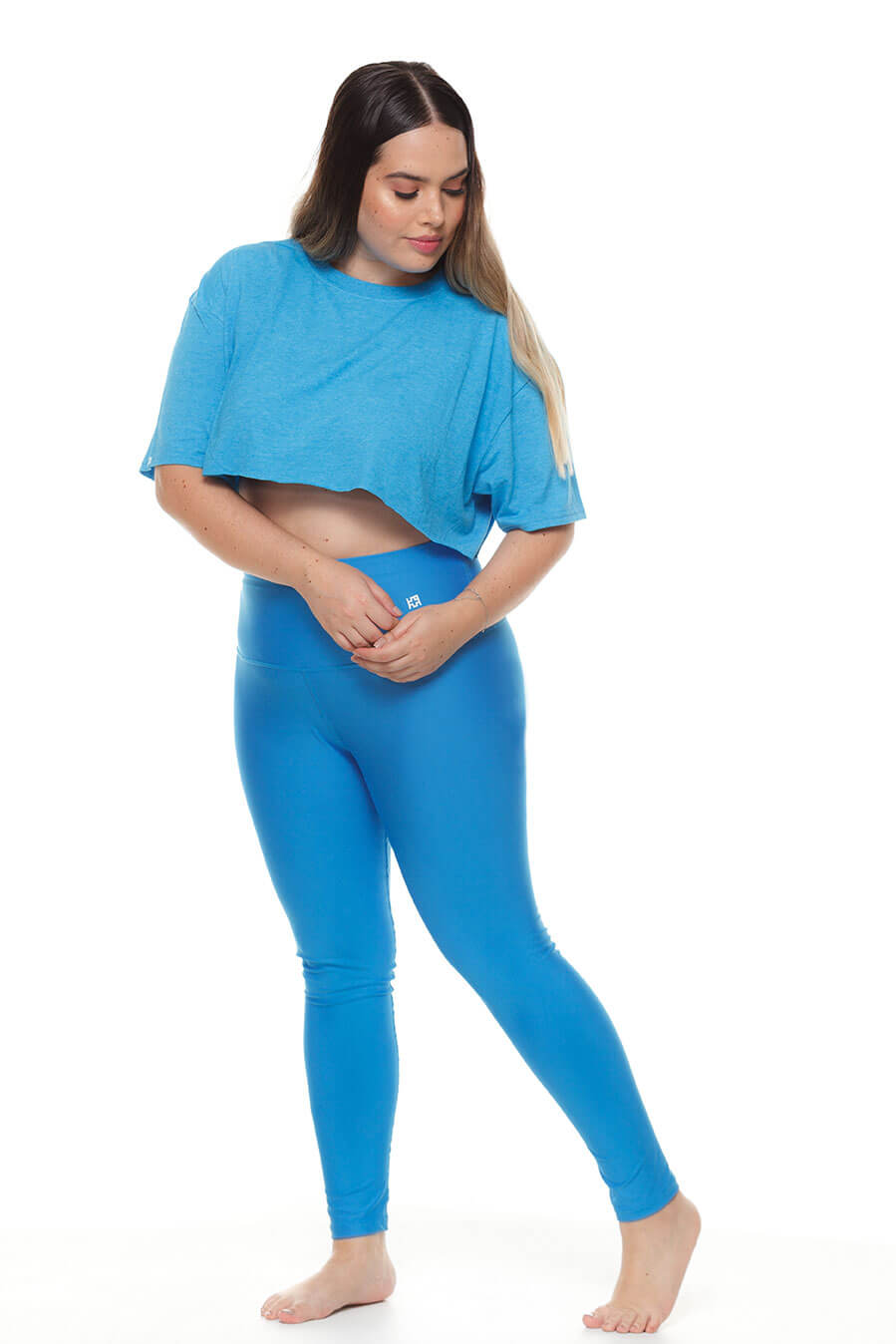 Leggings azul rey