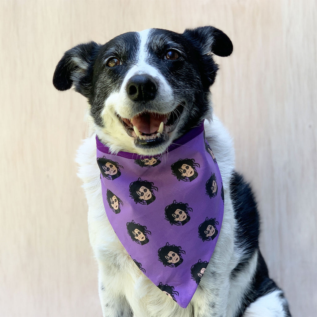 Scissorhands - Bandana - The Sophisticated Pet