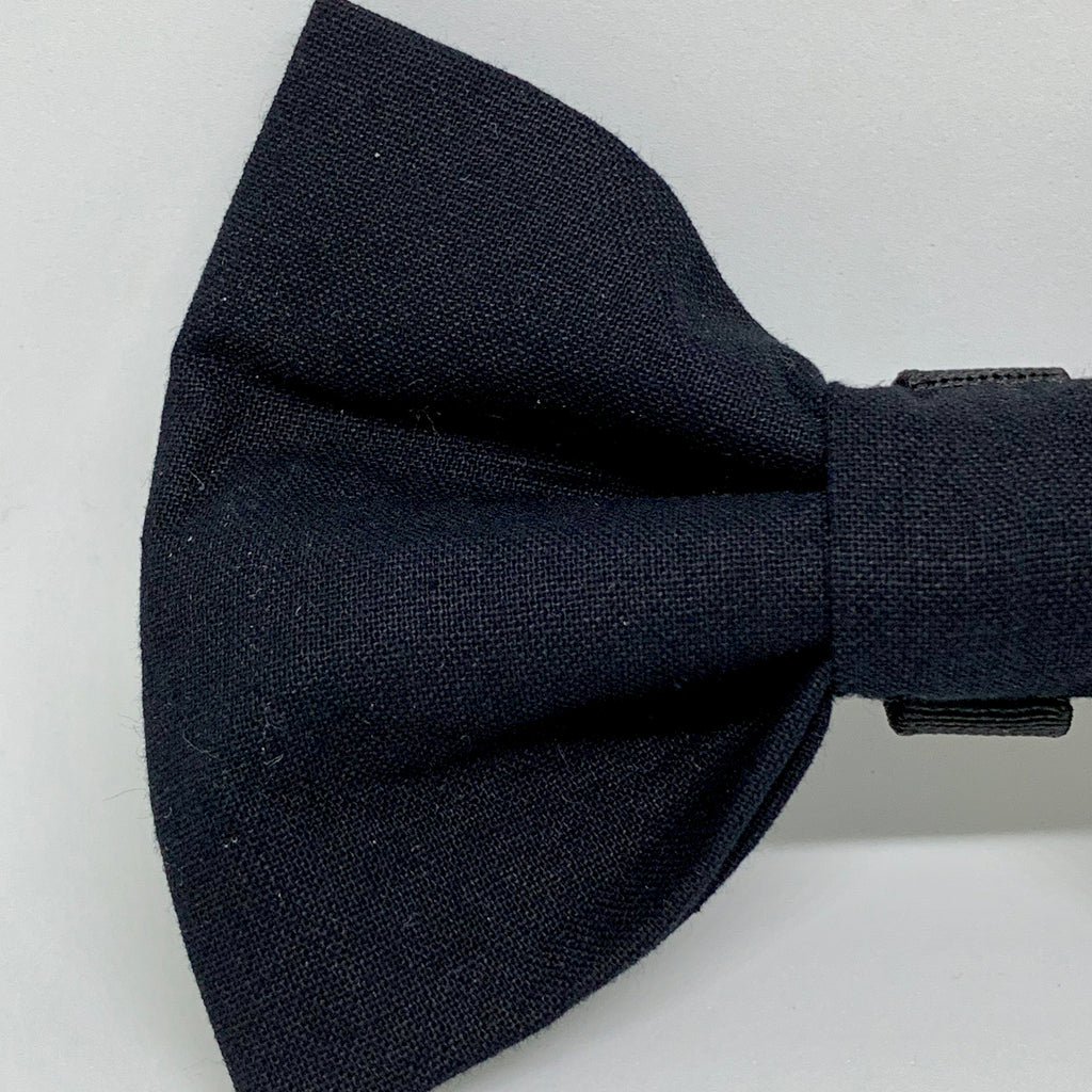 Black Tie - Bow Tie - The Sophisticated Pet