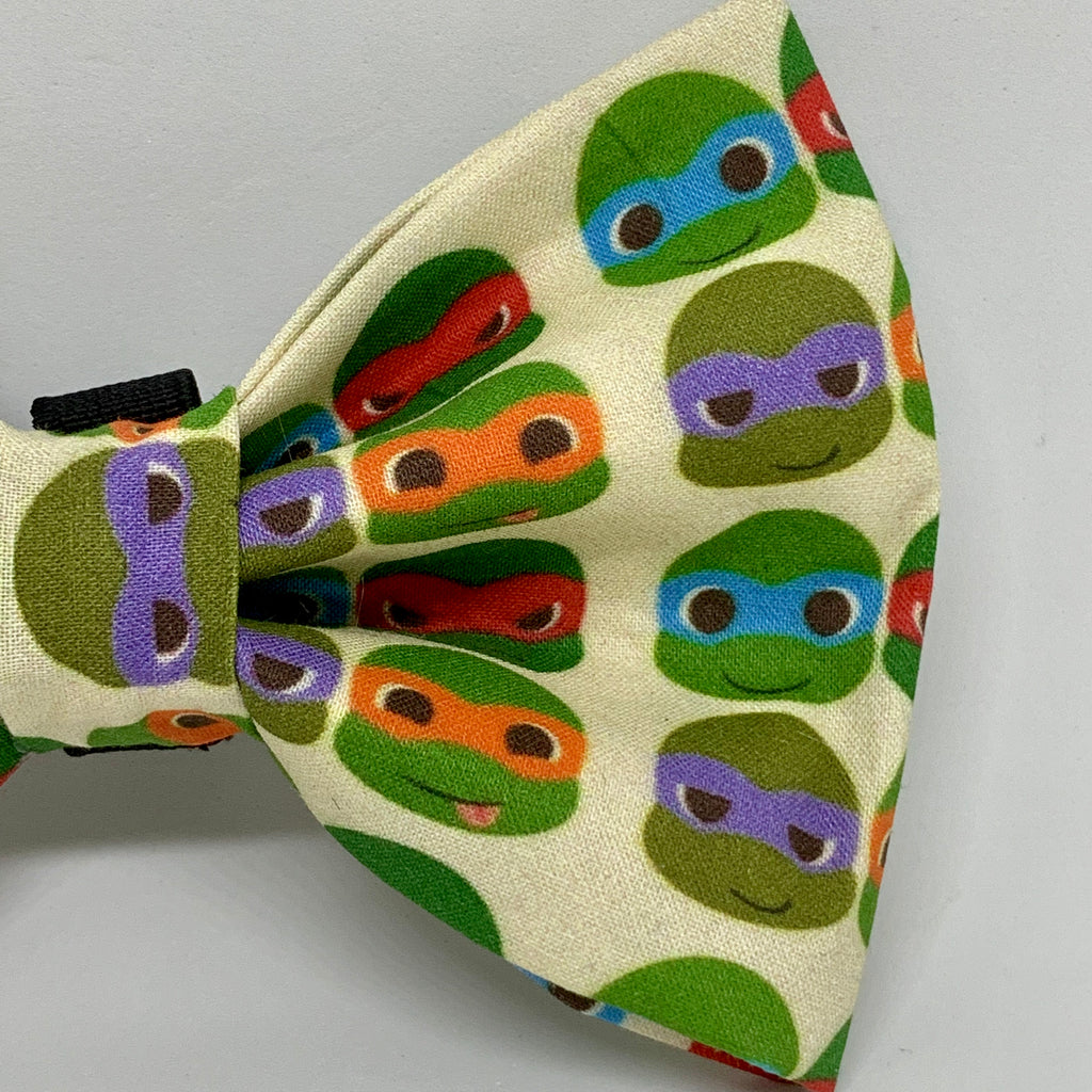 Turtle Power - Bow Tie - The Sophisticated Pet