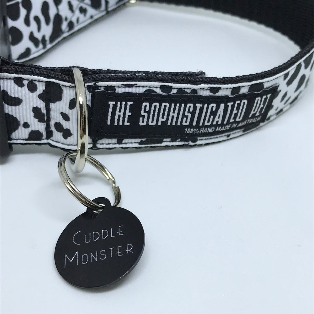 Cuddle Monster - Dog Tags - The Sophisticated Pet