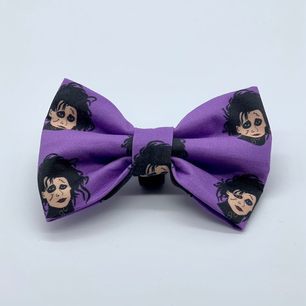 Edward Scissorhands - Bow Tie - The Sophisticated Pet