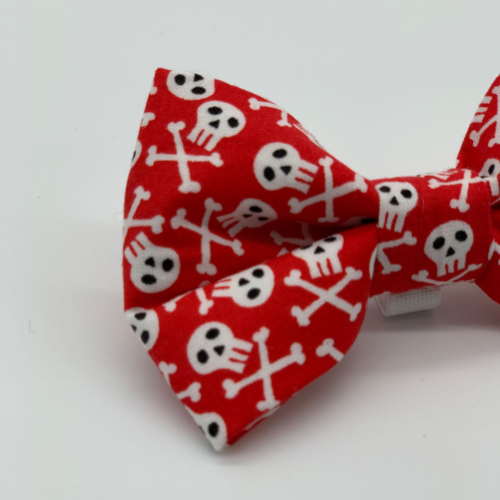 Bad To The Bone - Bow Tie - The Sophisticated Pet