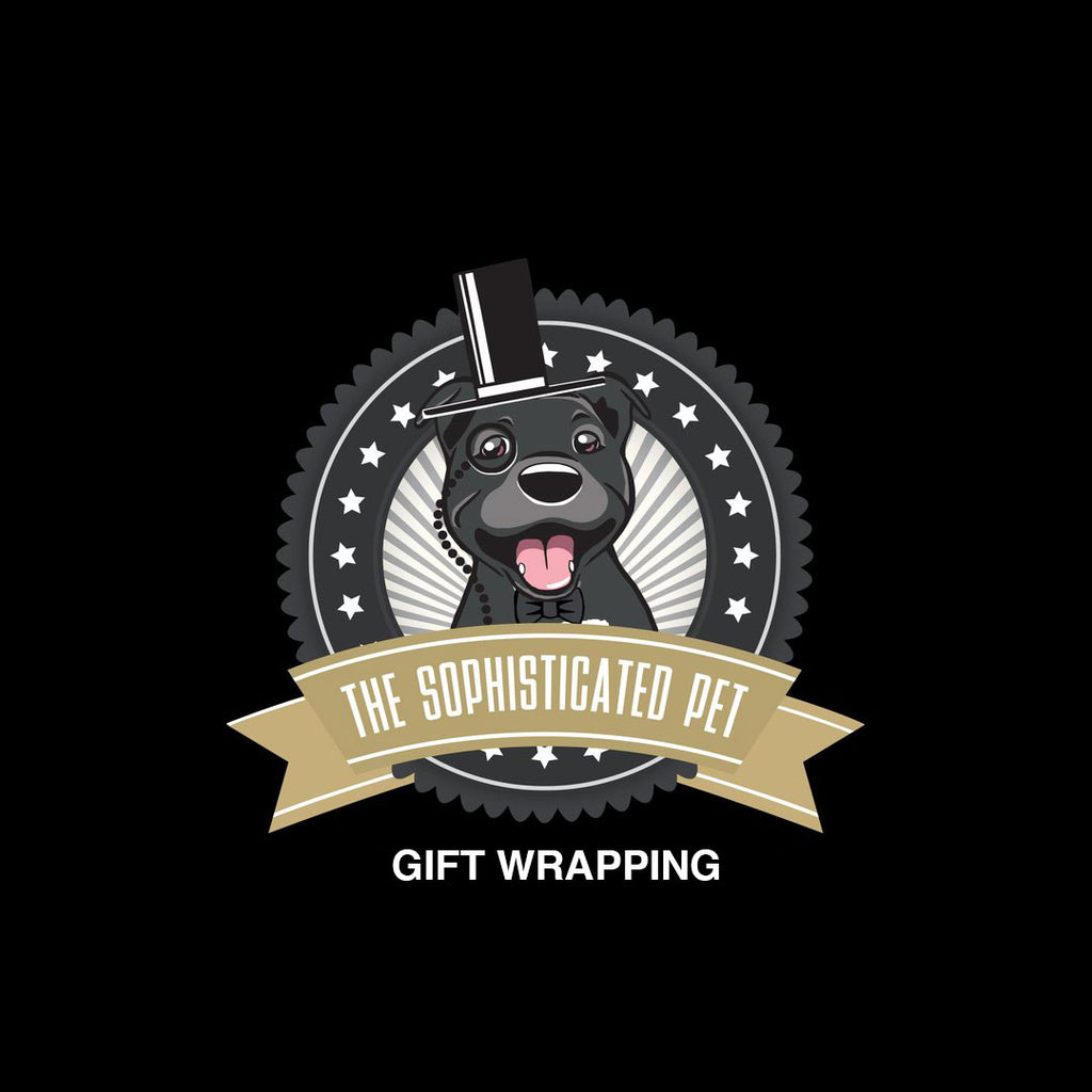 Gift Wrapping -  - The Sophisticated Pet