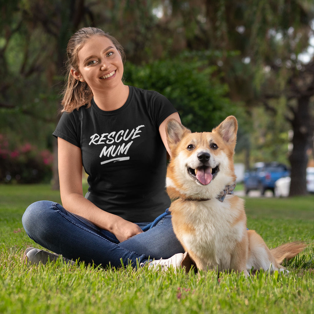 Rescue Mum - Women's Shirt - Human - The Sophisticated Pet