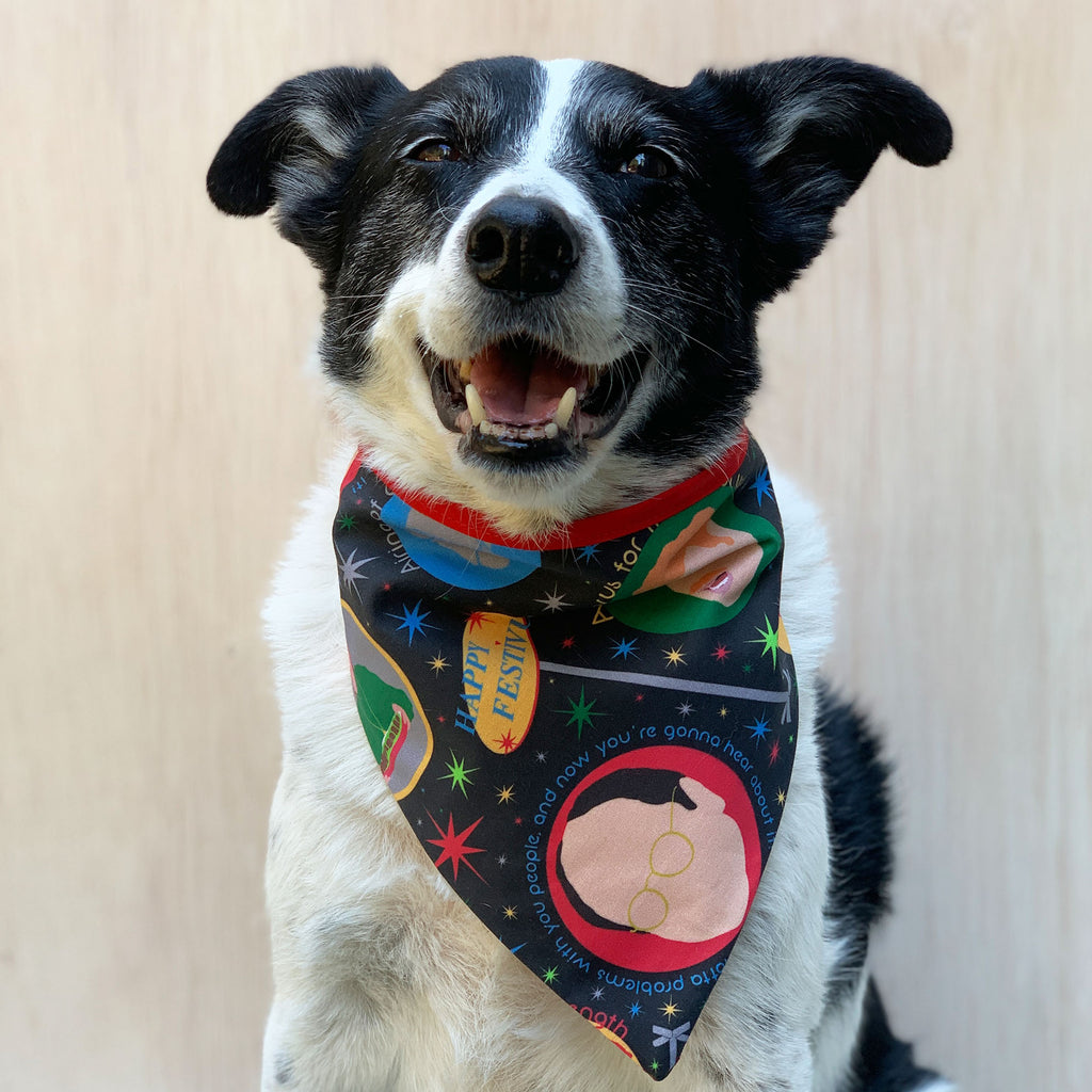 Festivus - Bandana - The Sophisticated Pet