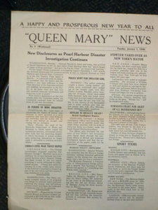 """Queen Mary "" News"