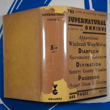 Load image into Gallery viewer, The Supernatural Omnibus Montague Summers (Editor). Publication Date: 1931 Condition: Near Fine