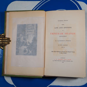 The life and opinions of Tristram Shandy gentleman. Laurence Sterne. Publication Date: 1883. Condition: Good
