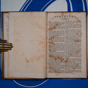 Apocrypha Publication Date: 1822 Condition: Good