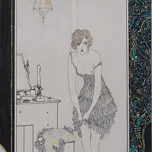 Load image into Gallery viewer, >>>UNIQUE UNPUBLISHED ORIGINAL ART<<<Silk Stockings GEORGE BARBIER. Publication Date: 1919 Condition: Near Fine