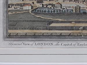 A General View of London, the Capital of England-Taken from an Eminence near Islington. Page, [George Henry Millar] Publication Date: 1784 Condition: Very Good