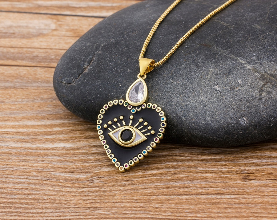 Eye Am Engraved In Your Heart Necklace