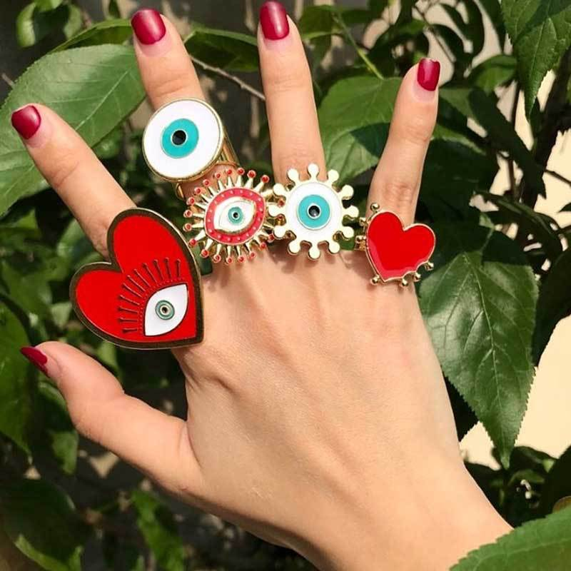 Adjustable Bohemian Rings