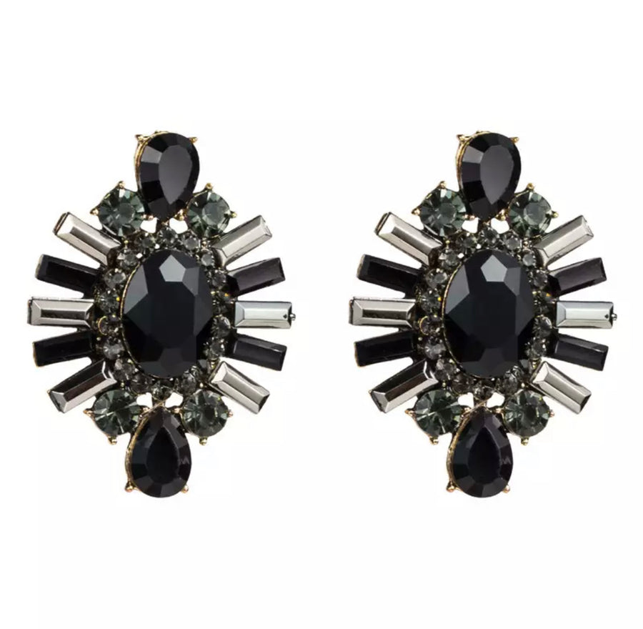 Large Cluster Earrings