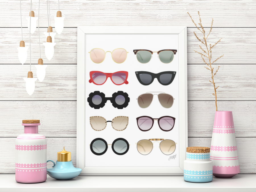 Sunglasses Art Prints