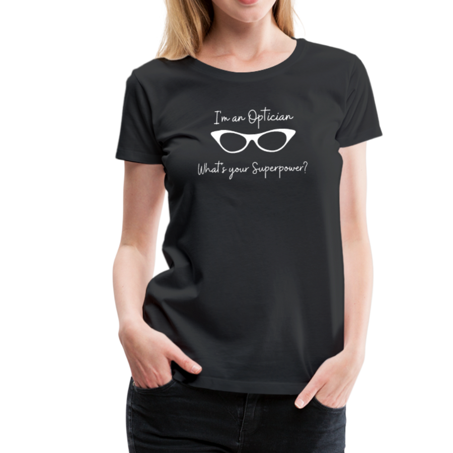 Optician Superpower T-Shirt - black