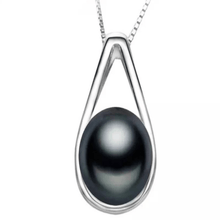 Load image into Gallery viewer, Teardrop Pearl Pendant Necklace