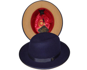 Bruno Capelo Hats 'Princeton' Different Color Under Brim