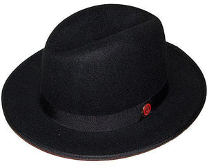 Bruno Capelo Hats 'Princeton' Red Under Brim