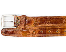 Load image into Gallery viewer, Belvedere Ostrich Leg Belt # 2000