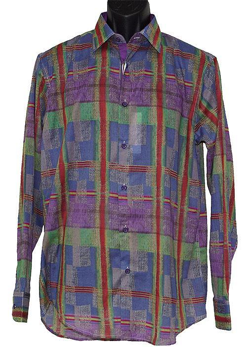 Cigar Shirt # S3917 Purple