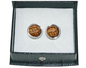 Crocodile Cuff Links