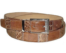 Load image into Gallery viewer, David Eden Crocodile/Lizard Belt # 1001