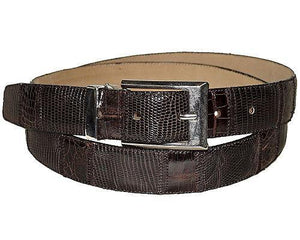 David Eden Crocodile/Lizard Belt # 1001