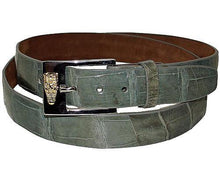 Load image into Gallery viewer, David Eden Alligator Belt # 1080