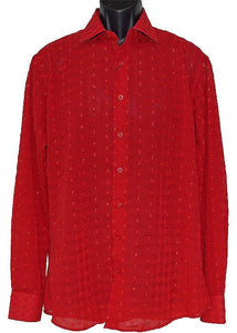 Lanzino Shirt # LSL659 Red