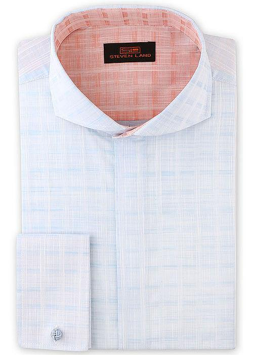 Steven Land Shirt # 1902 Blue