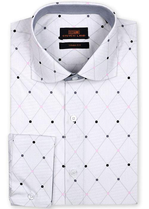 Steven Land Shirt # 763 White