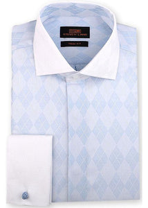 Steven Land Shirt # 1814 Blue