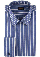 Load image into Gallery viewer, Steven Land Shirt # 929 Blue (Triple Collar)