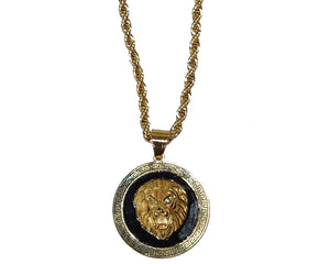 Tiagrama Pendant Necklace # 720902 Gold